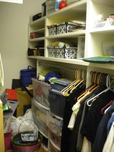 My Closet Before